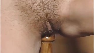 Exciting hot retro porn star chick in vintage sexy lingerie are playing retro sex toys