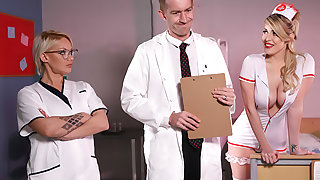 Vicious Nurse's First Day