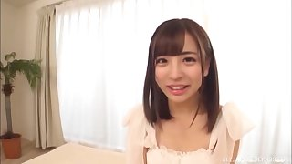 For this downcast brunette Sazanami Aya nothing is better than constant sex