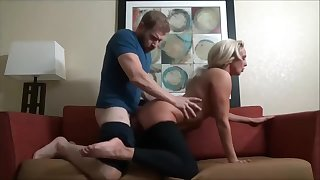 Stepson massages mommy and cums thither their way face - Watch Part 2 exposed to Hotcam666