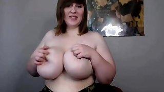 Georgina Lempkin solo BBW with huge boobs