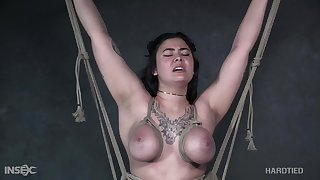 Ella Jane is no alien to confidential bondage and she's perfectly submissive