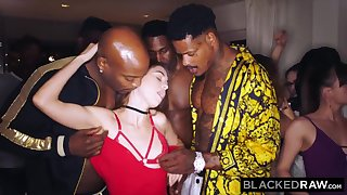 BLACKEDRAW My gf got gang-fucked at the after soiree