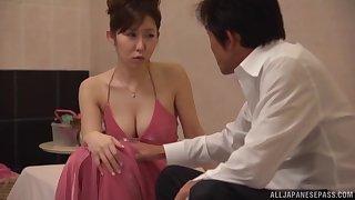 Passionate fucking during massage with kinky unspecified Azumi Kinoshita
