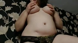 Fucking treat rack on that whore and this hottie is such a naughty tease