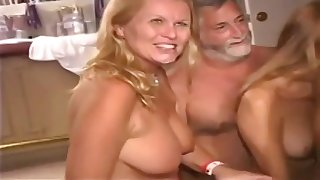 Older Aristocracy Get Crazy - hot sex party