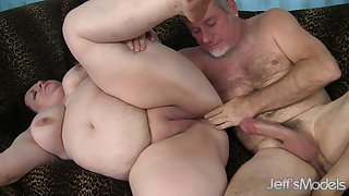 Jeffs Models - BBW Joanna Roxxx Taking Cock Compilation 4